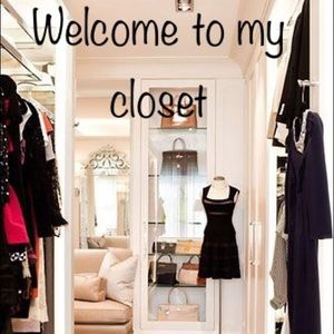 Other - My closet guidelines....